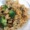 Walnut, Mustard, and Cilantro Pasta – Fresh Vegan Take on American Chop Suey!