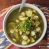 Slow Cooker Vegan Pozole Verde