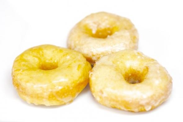 Vegan Glazed Donuts
