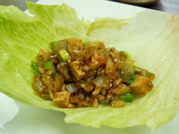 What's For Dinner? Asian Lettuce Wraps