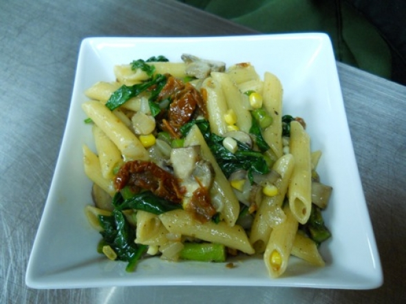 What's For Dinner? Pasta with veggies