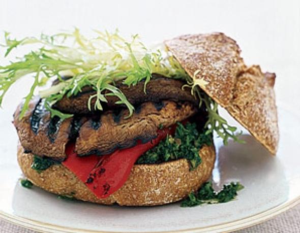 Quick, Easy, and Oh-So-Good Portobello Burgers!