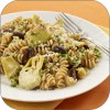 Artichoke-Pasta Toss with Pine Nuts