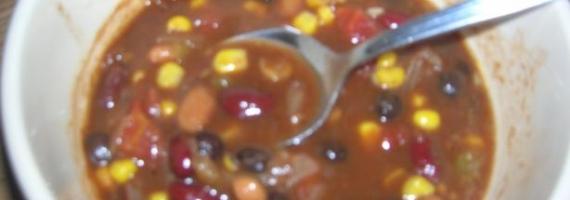 Dad's Delicious Easy Vegan Chili Recipe