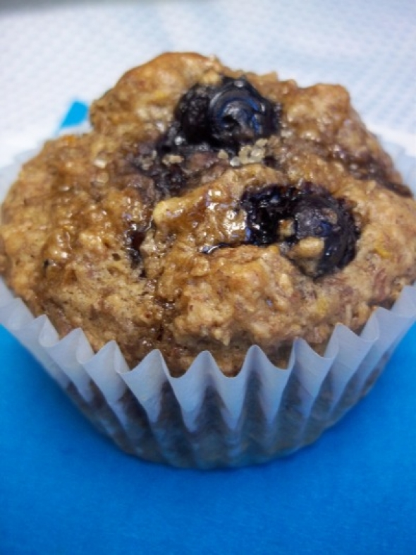 Vegan Good Morning Flax Muffins
