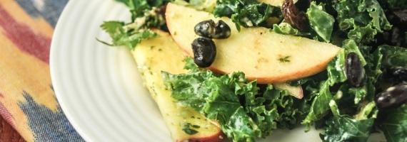 Jalapeno Kale Waldorf Salad