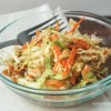Kelp Noodle and Cabbage Salad