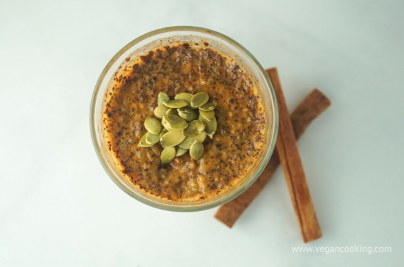 Maple Pumpkin Chia Seed Pudding