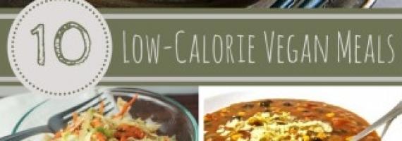 Ten Delicious Low Calorie Vegan Meals
