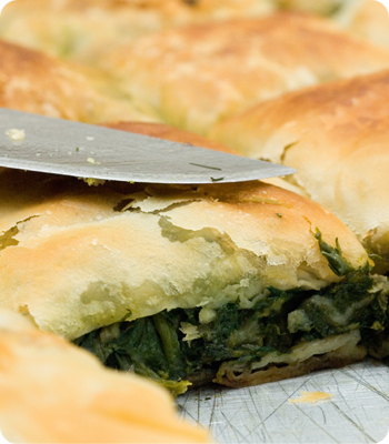 Vegan Creamed Spinach Puffs Recipe