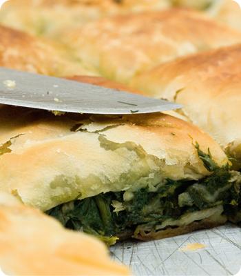 Vegan Creamed Spinach Puffs Recipe