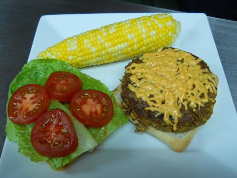 What's For Dinner? Tofu Cheeseburgers