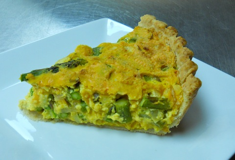 What's For Dinner? Asparagus Quiche