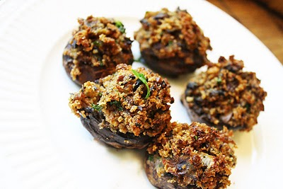 Stuffed Portobello Appetizers — So Good, So Vegan!