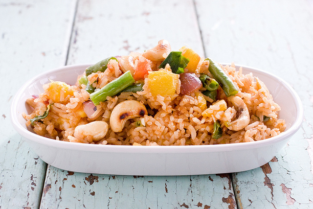Vegan Mango Fried Rice – How Nice!