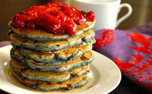 Berry Delicious Vegan Delights Pancakes