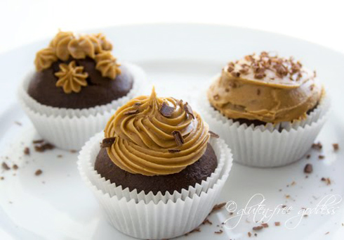 Perfect Vegan Combo — Chocolate Cupcakes with Coffee Icing!