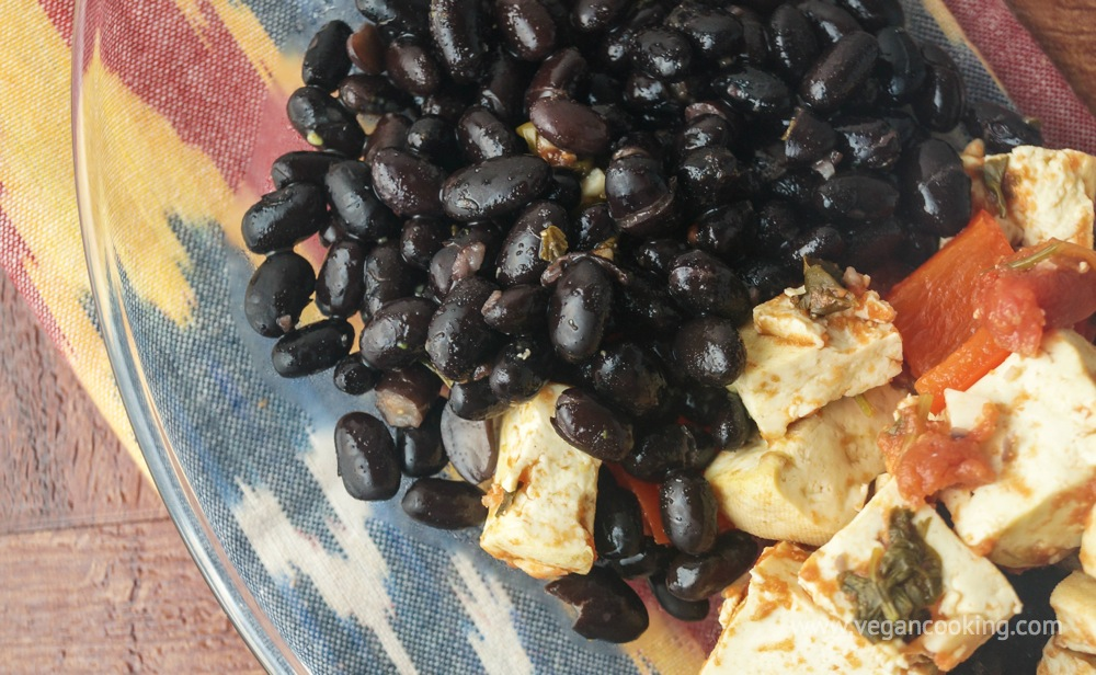 Spicy Citrus Black Beans
