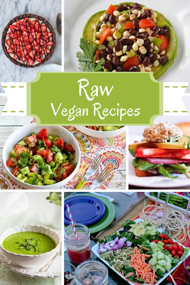 12 Delicious Raw Vegan Recipes