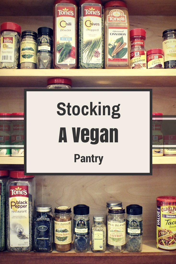 Stocking a Vegan Pantry