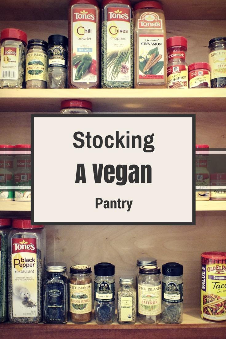 Stocking a Vegan Pantry