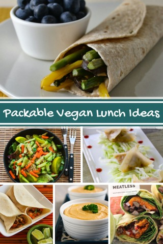 Twelve Tasty Packable Vegan Lunches