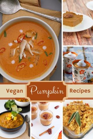 Ten Tempting Vegan Pumpkin Recipes